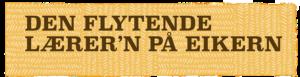 Logo den flytende lærere på Eikern
